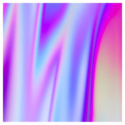 holo effect crossbody bag with chain