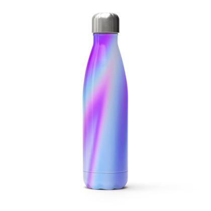 holo effect stainless steel thermal bottle