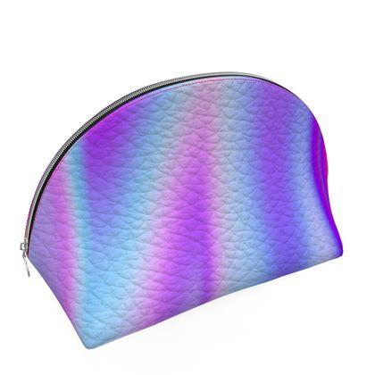 holo effect shell coin purse