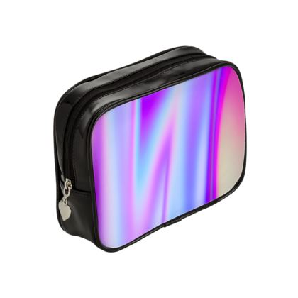 holo effect make up bag