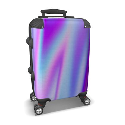 holo effect suitcase
