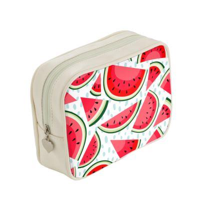 watermelon make up bag