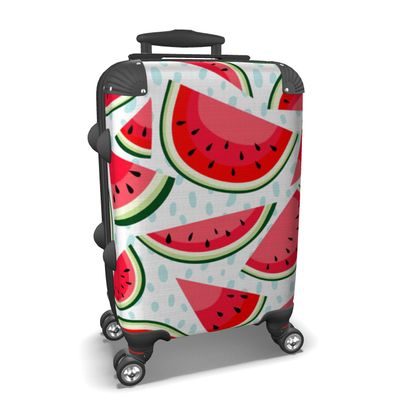 watermelon suitcase