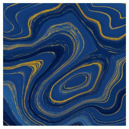 blue gold marble crossbody bag with chain