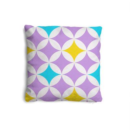 pastel stars pillow set