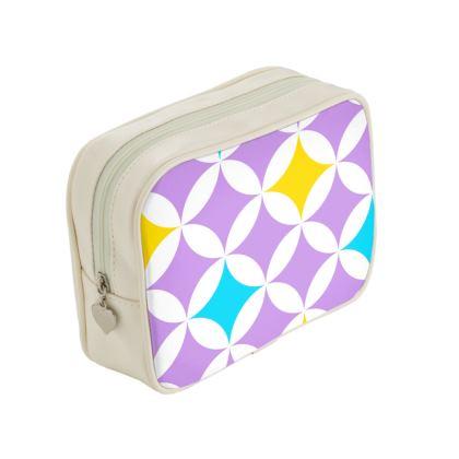 pastel stars make up bags