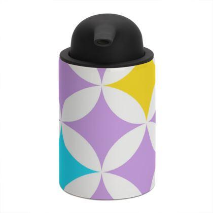 pastel stars soap dispenser