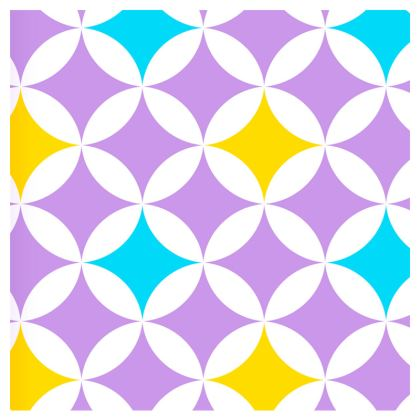 pastel stars leather clutch bag