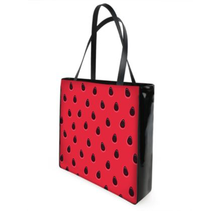 watermelon shopper bag