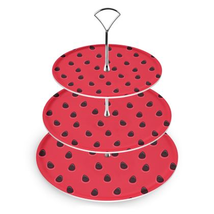 watermelon cake stand
