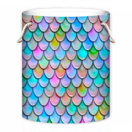 mermaid laundry bag