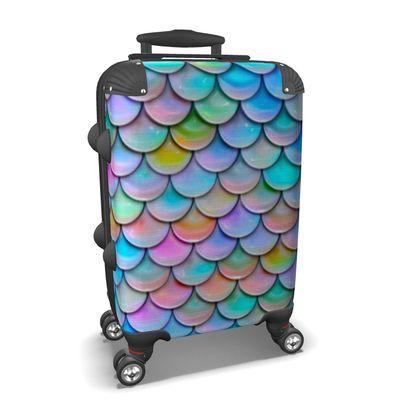 mermaid suitcase