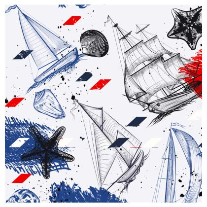 sailling day travel wallet