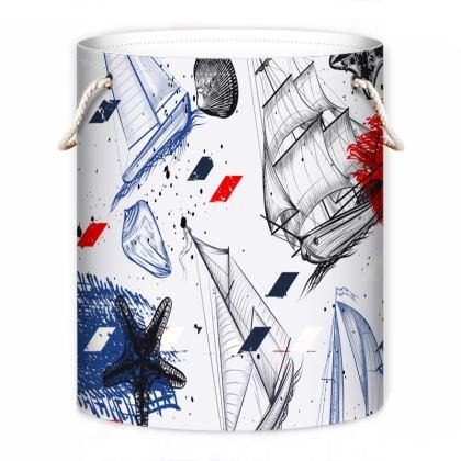 sailing day laundry bag