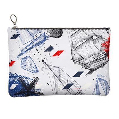 sailing day clutch bag