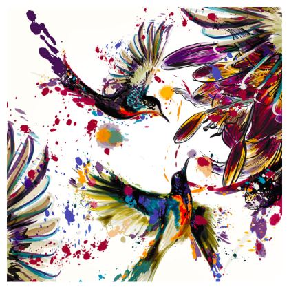 hummingbirds crossbody bag