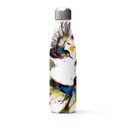 hummingbirds stainless steel thermal bottle