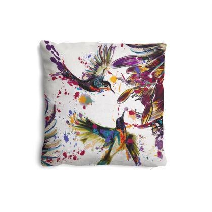 hummingbird pillow set
