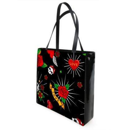 sugar tattoo shopper bag
