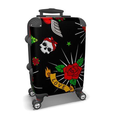 sugar tattoo suitcase