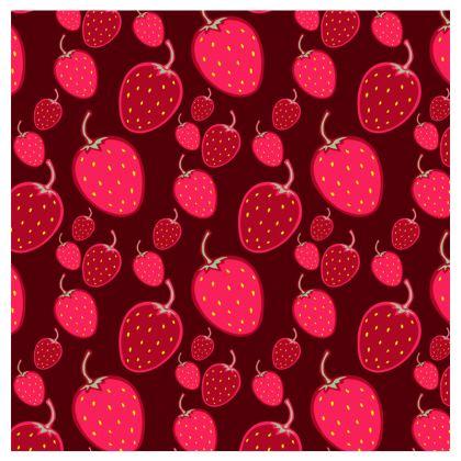 strawberries travel wallet