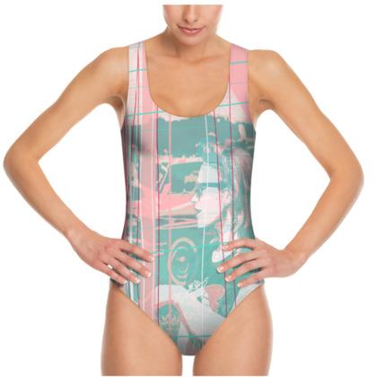 Swimsuit - Vintage Mood in Pastels