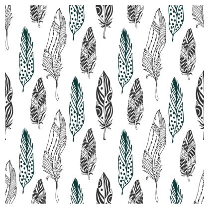 minimal feathers crossbody bag