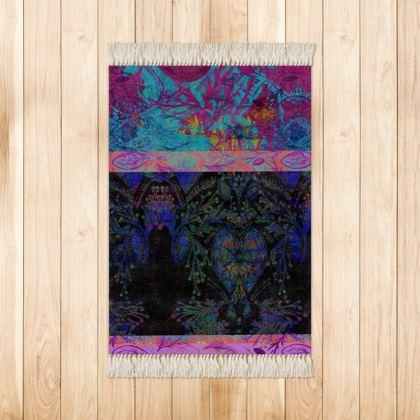 Colourful Chic Small Velvet Rug