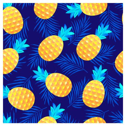 pineapple fun clutch bag