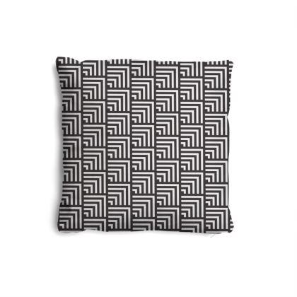 minimal geometric pillow set