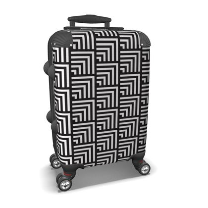 minimal geometric suitcase