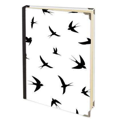 minimal birds journal