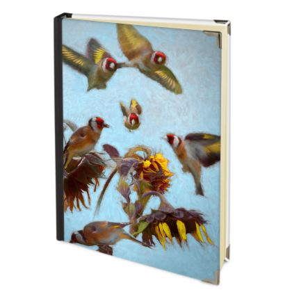 Charm of Goldfinches Journal