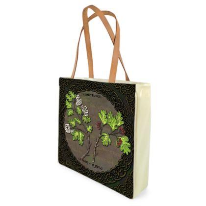 Tree Calendar Hawthorn Shopper Bag