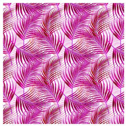 Tropical Garden Collection in Magenta Slip Dress