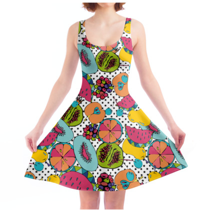 Skater Dress - Tutti Frutti