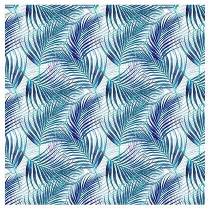 Tropical Garden in Blue Collection Trays