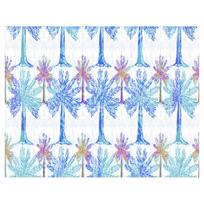 Oasis Collection in blue Trays