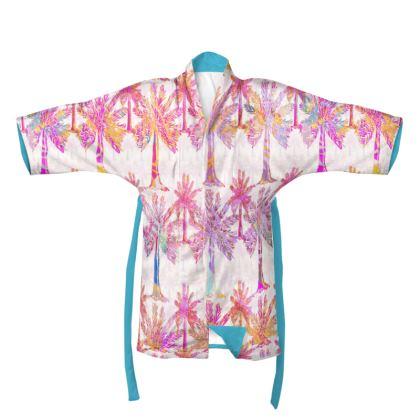 Oasis Collection in magenta Kimono