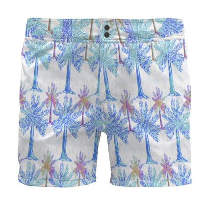 Oasis Collection in blue Board Shorts