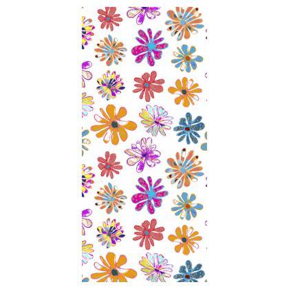 Rainbow Daisies Collection Flip Flops