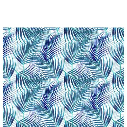 Tropical Garden in Blue Collection Cup And Saucer