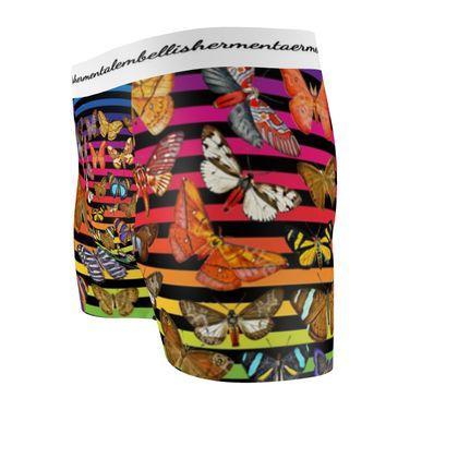 Rainbow Butterflies Boxer Briefs