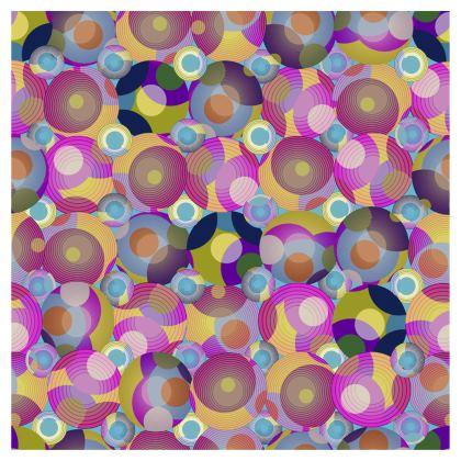 Moon Collection on blue Umbrella