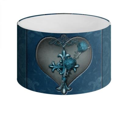 Royal Bleu Loyalty Drum Lamp Shade