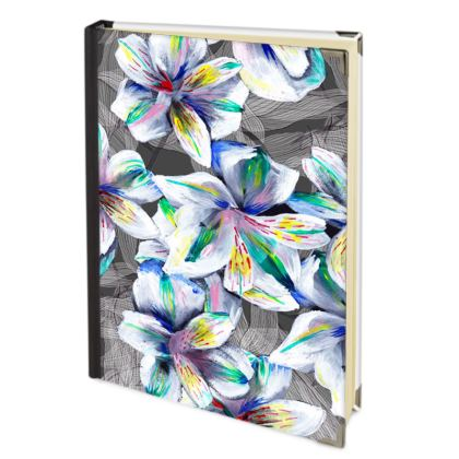 Colourful alstroemeria journal