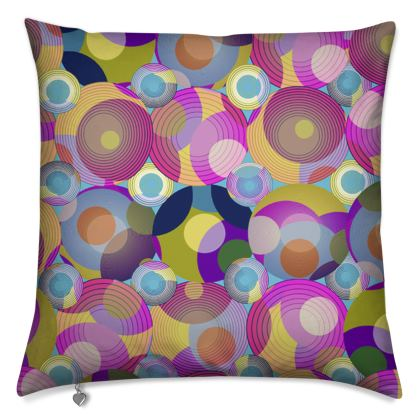 Moon Collection on blue Luxury Cushions