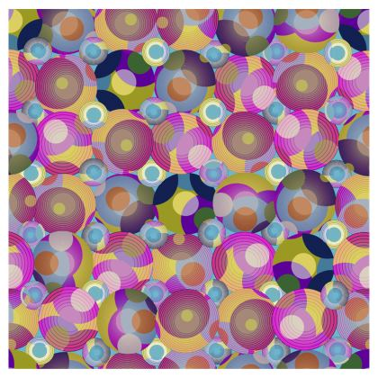 Moon Collection on blue Flip Flops