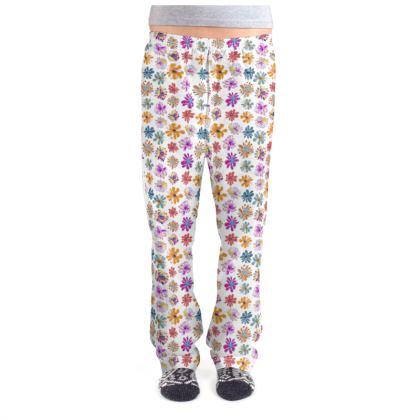 Rainbow Daisies Collection Ladies Pyjama Bottoms