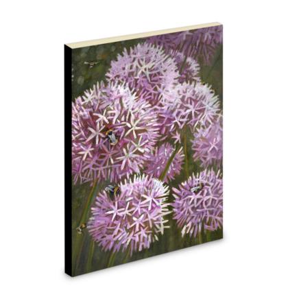 Summer Bees Pocket Note Book